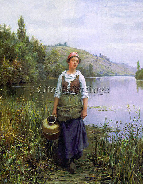 AMERICAN KNIGHT DANIEL RIDGWAY AMERICAN 1839 1924 1 ARTIST PAINTING REPRODUCTION