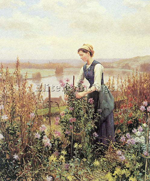 AMERICAN KNIGHT DANIEL RIDGWAY AMERICAN 1839 1924 2 ARTIST PAINTING REPRODUCTION