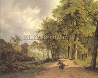 DUTCH KOEKKOEK BAREND CORNELIS DUTCH 1803 1862 ARTIST PAINTING REPRODUCTION OIL