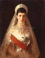 IVAN NIKOLAEVICH KRAMSKOY PORTRAIT OF THE EMPRESS MARIA FEODOROVNA REPRODUCTION