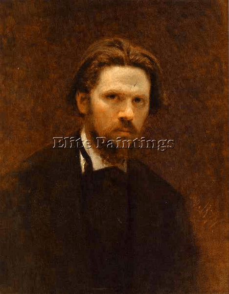IVAN KRAMSKOY SELF PORTRAIT ARTIST PAINTING REPRODUCTION HANDMADE OIL CANVAS ART
