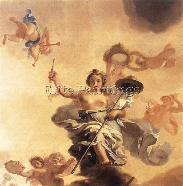 GERARD DE LAIRESSE  ALLEGORY OF THE FREEDOM OF TRADE ARTIST PAINTING HANDMADE
