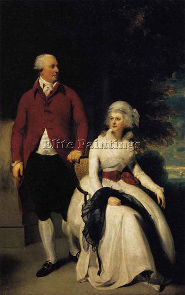 SIR THOMAS LAWRENCE MR AND MRS JOHN JULIUS ANGERSTEIN ARTIST PAINTING HANDMADE
