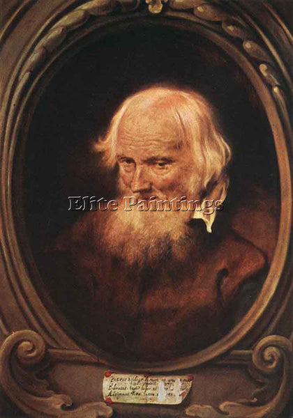JAN LIEVENS  PORTRAIT OF PETRUS EGIDIUS DE MORRION ARTIST PAINTING REPRODUCTION