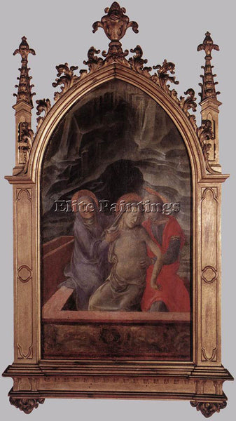 FRA FILIPPO LIPPI PIETA ARTIST PAINTING REPRODUCTION HANDMADE CANVAS REPRO WALL