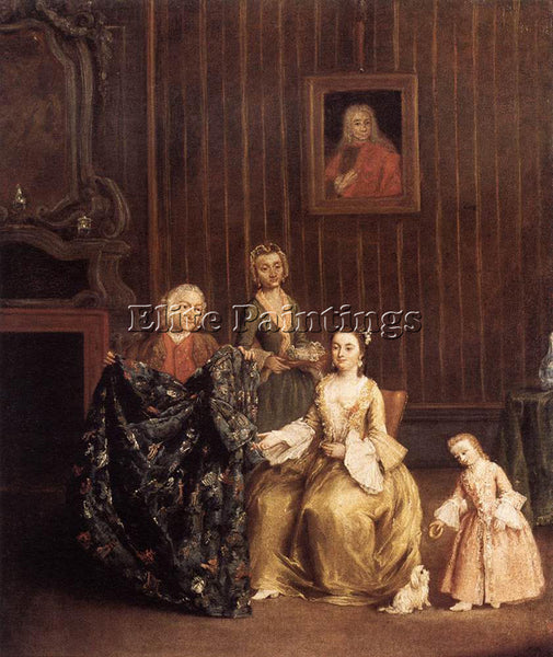 PIETRO LONGHI THE TAILOR ARTIST PAINTING REPRODUCTION HANDMADE CANVAS REPRO WALL