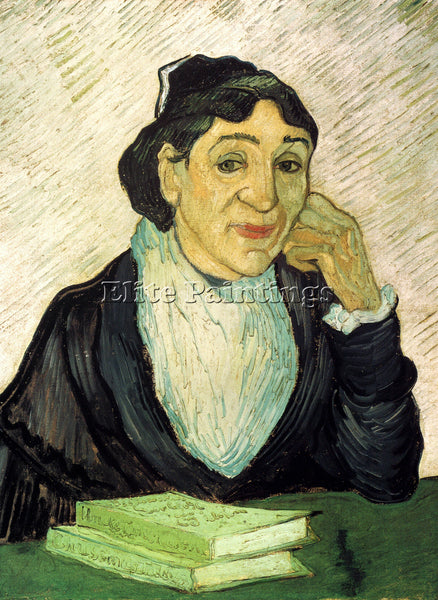 VAN GOGH L ARLESIENNE MADAME GINOUX ARTIST PAINTING REPRODUCTION HANDMADE OIL