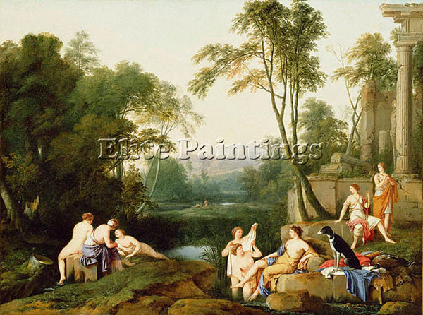 LAURENT DE LA HYRE HYR1 ARTIST PAINTING REPRODUCTION HANDMADE CANVAS REPRO WALL