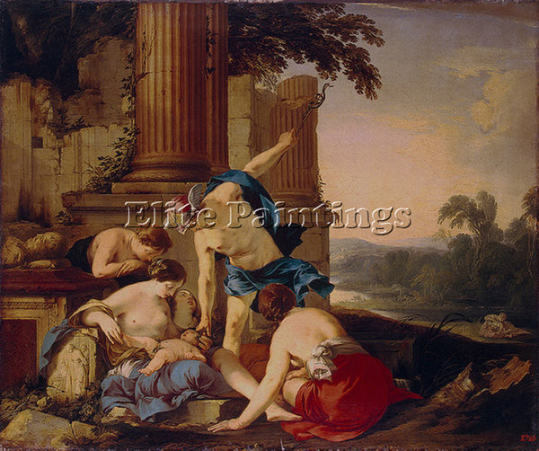 LAURENT DE LA HYRE HYR3 ARTIST PAINTING REPRODUCTION HANDMADE CANVAS REPRO WALL