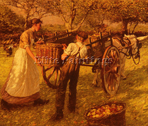 HENRY HERBERT LA THANGUE A SUSSEX ORCHARD ARTIST PAINTING REPRODUCTION HANDMADE