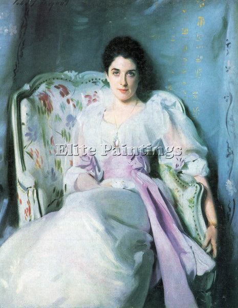 JOHN SINGER SARGENT LADY AGNEW ARTIST PAINTING REPRODUCTION HANDMADE OIL CANVAS