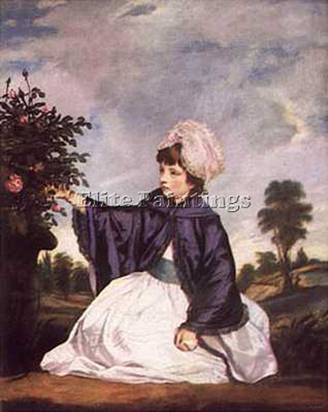 JOSHUA REYNOLDS LADY CAROLINE HOWARD BGG ARTIST PAINTING REPRODUCTION HANDMADE
