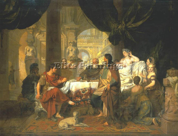 GERARD DE LAIRESSE 1680 CLEOPATRA 2 ARTIST PAINTING REPRODUCTION HANDMADE OIL