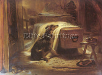 BRITISH LANDSEER SIR EDWIN HENRY ENGLISH 1803 1874 2 ARTIST PAINTING HANDMADE