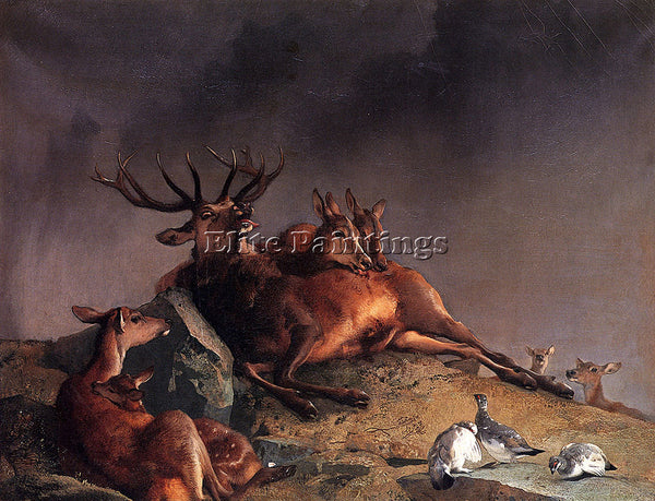 SIR EDWIN HENRY LANDSEER LANDSEER EDWIN HENRY THE HIGHLAND NURSES ARTIST CANVAS