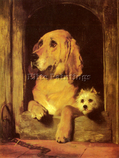 SIR EDWIN HENRY LANDSEER DIGNITY AND IMPUDENCE ARTIST PAINTING REPRODUCTION OIL