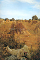 SIR LAWRENCE ALMA-TADEMA NINETY FOUR IN THE SHADE ARTIST PAINTING REPRODUCTION