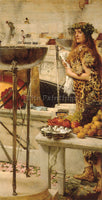 SIR LAWRENCE ALMA-TADEMA PREPARATION IN THE COLOSSEUM ARTIST PAINTING HANDMADE