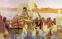 SIR LAWRENCE ALMA-TADEMA ALMA18 2 ARTIST PAINTING REPRODUCTION HANDMADE OIL DECO