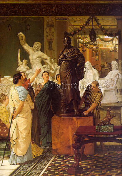 SIR LAWRENCE ALMA-TADEMA ALMA3 2 ARTIST PAINTING REPRODUCTION HANDMADE OIL REPRO