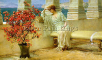SIR LAWRENCE ALMA-TADEMA ALMA5 2 ARTIST PAINTING REPRODUCTION HANDMADE OIL REPRO