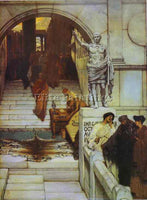SIR LAWRENCE ALMA-TADEMA ALMA6 ARTIST PAINTING REPRODUCTION HANDMADE OIL CANVAS