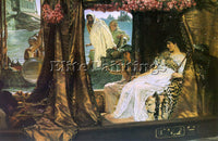 SIR LAWRENCE ALMA-TADEMA ALMA7 2 ARTIST PAINTING REPRODUCTION HANDMADE OIL REPRO