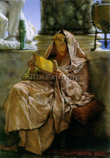 SIR LAWRENCE ALMA-TADEMA PROSE ARTIST PAINTING REPRODUCTION HANDMADE OIL CANVAS