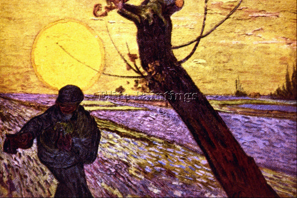 VAN GOGH LE SEMEUR 2 ARTIST PAINTING REPRODUCTION HANDMADE OIL CANVAS REPRO WALL