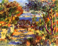 RENOIR LE STAQUE ARTIST PAINTING REPRODUCTION HANDMADE OIL CANVAS REPRO WALL ART