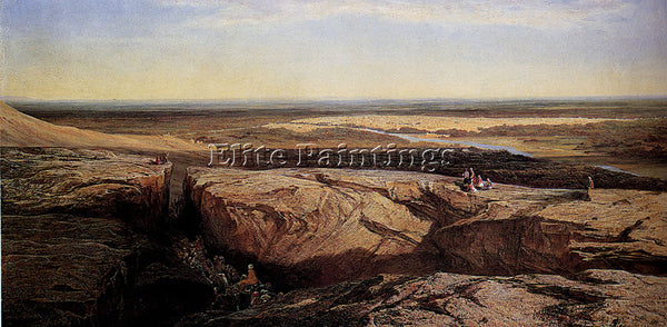 EDWARD LEAR DAMASCUS ARTIST PAINTING REPRODUCTION HANDMADE OIL CANVAS REPRO WALL