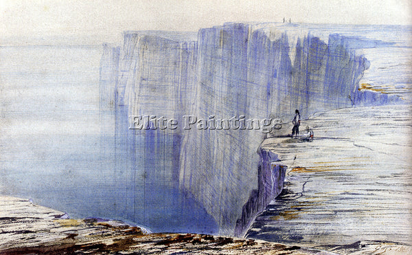 EDWARD LEAR GOZO MALTA ARTIST PAINTING REPRODUCTION HANDMADE CANVAS REPRO WALL