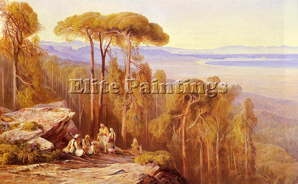 EDWARD LEAR MARATHON ARTIST PAINTING REPRODUCTION HANDMADE OIL CANVAS REPRO WALL