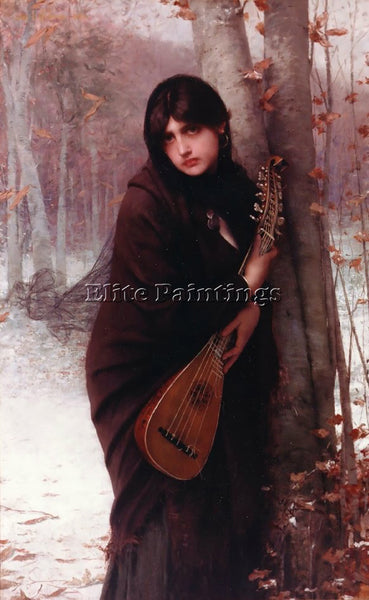 JULES JOSEPH LEFEBVRE LEFEBVRE2 ARTIST PAINTING REPRODUCTION HANDMADE OIL CANVAS