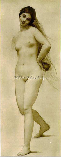 JULES JOSEPH LEFEBVRE EVE ARTIST PAINTING REPRODUCTION HANDMADE OIL CANVAS REPRO