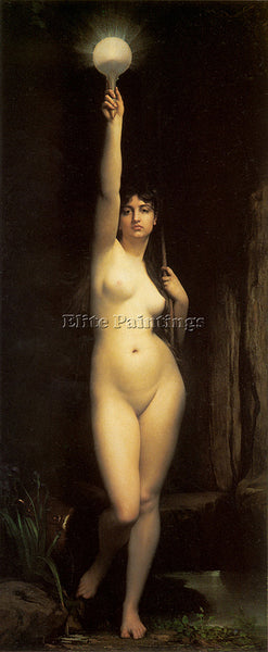 JULES JOSEPH LEFEBVRE TRUTH ARTIST PAINTING REPRODUCTION HANDMADE OIL CANVAS ART