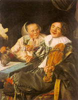 DUTCH LEYSTER JUDITH DUTCH 1609 1660 LEYSTER2 ARTIST PAINTING REPRODUCTION OIL