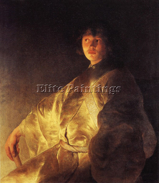 JAN LIEVENS 31PORTR ARTIST PAINTING REPRODUCTION HANDMADE CANVAS REPRO WALL DECO