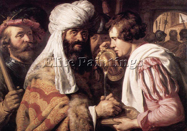 JAN LIEVENS 32PILATE ARTIST PAINTING REPRODUCTION HANDMADE OIL CANVAS REPRO WALL