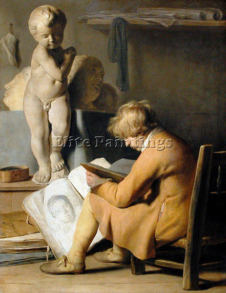 JAN LIEVENS 33STUDENT ARTIST PAINTING REPRODUCTION HANDMADE OIL CANVAS REPRO ART