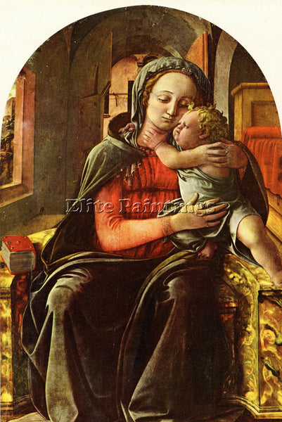 FRA FILIPPO LIPPI LIPPI FILIPPINO MADONNA AND CHILD2 ARTIST PAINTING HANDMADE