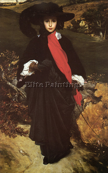 LORD FREDERICK LEIGHTON MAY SARTORIS ARTIST PAINTING REPRODUCTION HANDMADE OIL