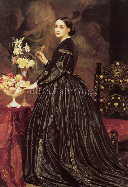 LORD FREDERICK LEIGHTON MRS JAMES GUTHRIE ARTIST PAINTING REPRODUCTION HANDMADE