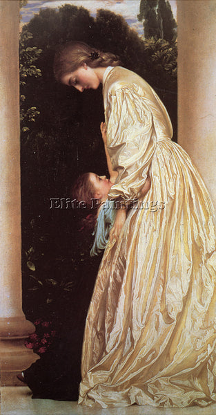 LORD FREDERICK LEIGHTON SISTERS ARTIST PAINTING REPRODUCTION HANDMADE OIL CANVAS
