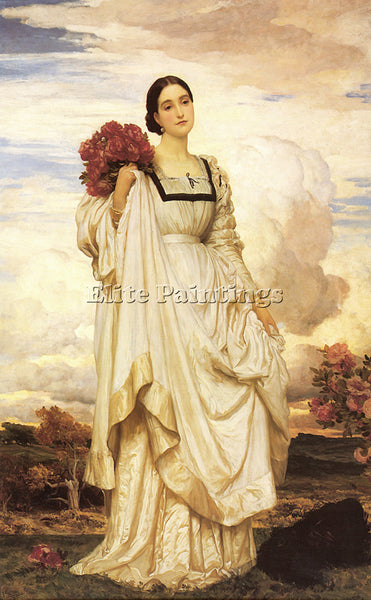 LORD FREDERICK LEIGHTON THE COUNTESS BROWNLOW ARTIST PAINTING REPRODUCTION OIL