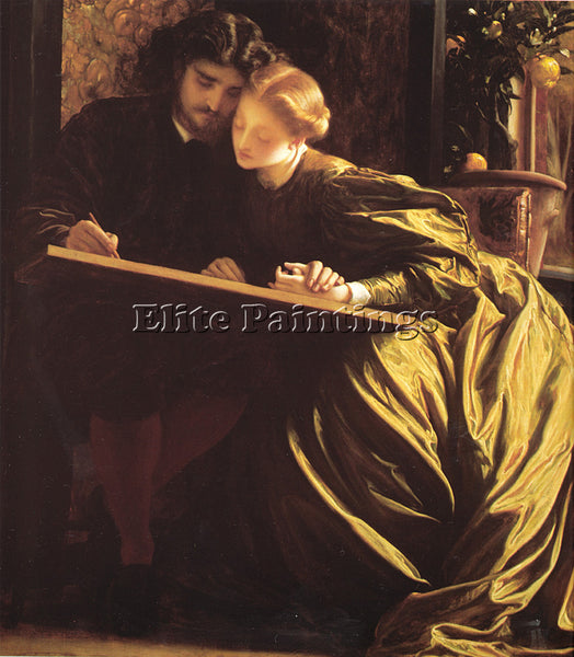 LORD FREDERICK LEIGHTON THE PAINTER S HONEYMOON ARTIST PAINTING REPRODUCTION OIL