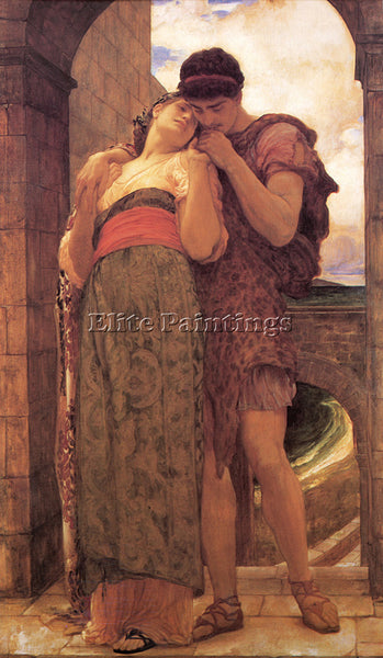 LORD FREDERICK LEIGHTON WEDDED ARTIST PAINTING REPRODUCTION HANDMADE OIL CANVAS