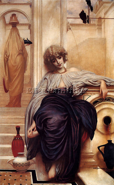 LORD FREDERICK LEIGHTON LIEDER OHNE WORTE C1860 1 ARTIST PAINTING REPRODUCTION