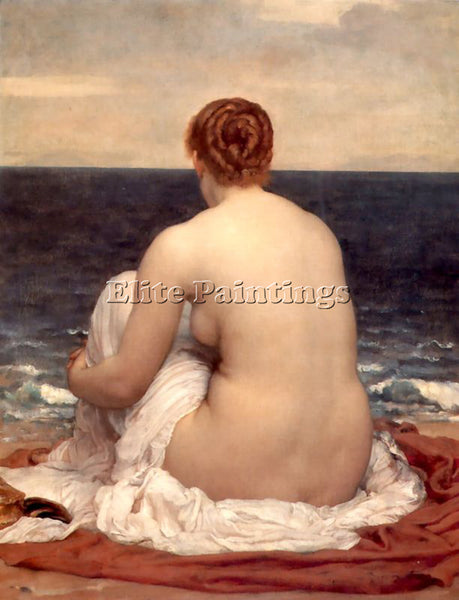 LORD FREDERICK LEIGHTON PSAMATHE C1880 ARTIST PAINTING REPRODUCTION HANDMADE OIL