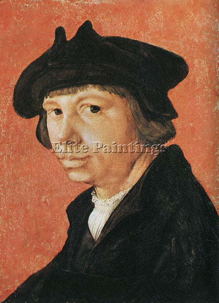 LUCAS VAN LEYDEN SELF PORTRAIT ARTIST PAINTING REPRODUCTION HANDMADE OIL CANVAS